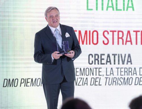 """PREMIO MIGLIORE STRATEGIA PER LA CATEGORIA """"L'ITALIA CHE COMUNICA L'ITALIA"""""""