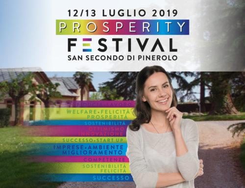 Prosperity Festival: 12 e 13 luglio